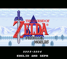 Legend Of Zelda - Parallel Worlds