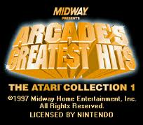 Arcade's Greatest Hits – The Atari Collection