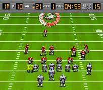 Bill Walsh College Football Snesfun Play Retro Super Nintendo