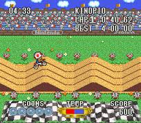Excitebike Bunbun Mario Battle Stadium