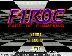 F1 Roc 1 - Race of Champions