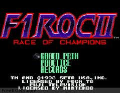 F1 Roc 2 - Race of Champions