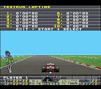 F1 Pole Position 2 – SNES
