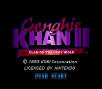 Genghis Khan 2 - Clan of the Grey Wolf