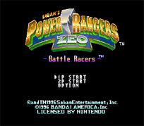 Mighty Morphin Power Rangers  – Battle Racers