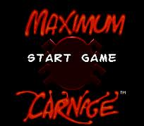 Spider Man and Venom – Maximum Carnage