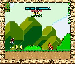 Super Mario Bros. Mario & Luigi (SMW1 Hack)