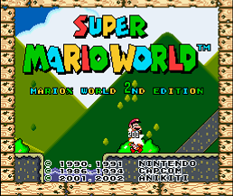 Super Mario World - MarioX World 2nd (SMW1 Hack)