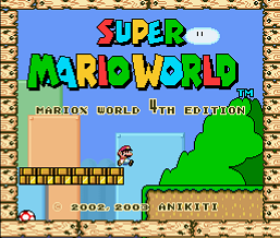 Super Mario World - MarioX World 4th (SMW1 Hack)