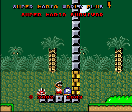Super Mario World Plus 4 - Super Mario Survivor (SMW1 Hack)