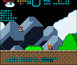 Jogar Super Mario World Ultimate Mayhem 2.5 (SMW3 Hack) Gratis Online