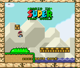 Super Trap World Demo 1 (SMW1 Hack)