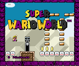 Super Wario World (SMW1 Hack)