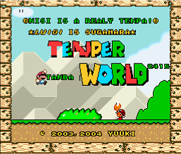 Tenper World (SMW1 Hack)