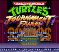TMNT Tournament Fighter