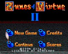 Ultima – Runes of Virtue 2