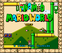 Unnamed Mario World (SMW1 Hack)