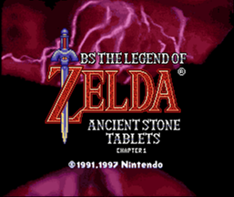 Legend of Zelda: Ancient Stone Tablets